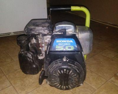 Honda GC160 5.0 generator