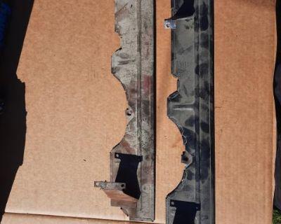 2 Exhaust Heat Shields