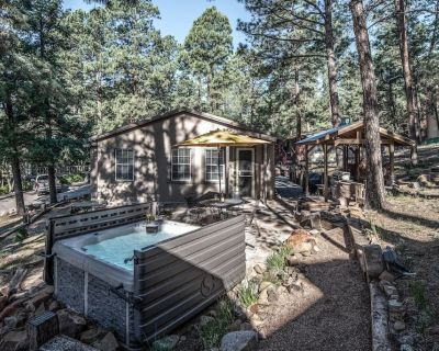 This charming mountain chalet is the perfect place for a vacation any time of ye - Ruidoso