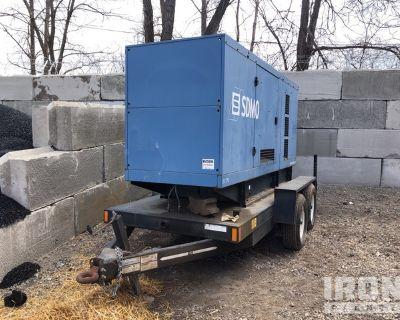 2003 SDMO JS170UC Mobile Gen Set