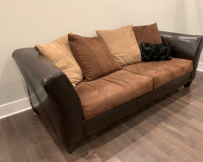 3-seater couch $100 ,Brand- Ashley, other items available!