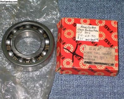 bearing rear outer gear reduction box