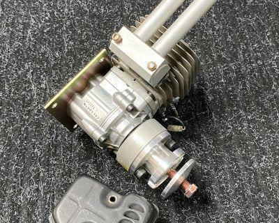 Zenoah G45 Engine with Pitts muffler G-45