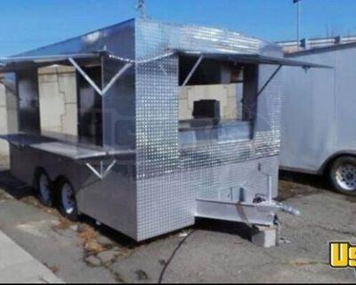 8' x 14' Food Concession Trailer Kitchen Trailer