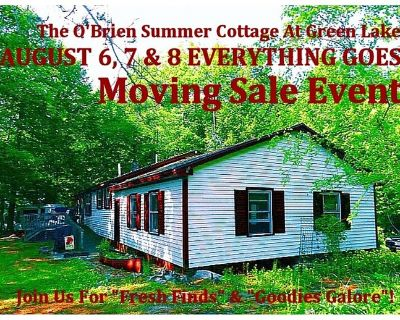 ELLSWORTH - Contents Green Lake Summer Cottage Moving Sale