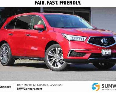 Used 2019 Acura MDX FWD