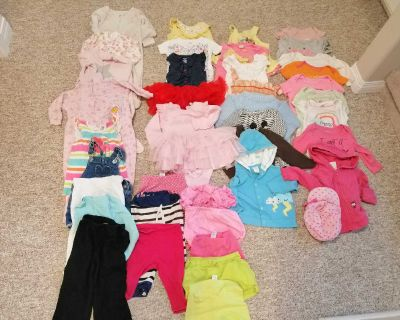 32 pcs Baby girl clothes size 12-18 months