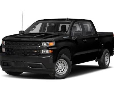 Pre-Owned 2020 Chevrolet Silverado 1500 Work Truck 4WD Crew Cab Pickup