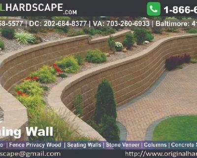 Retaining walls contractor maryland | Retaining walls developer maryland