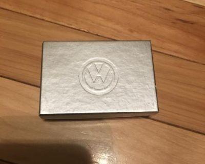 NOS VW Silver Lapel Pin Split Bug