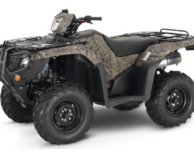 2021 Honda FourTrax Foreman Rubicon 4x4 EPS ATV Utility Chico, CA