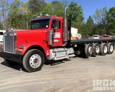 2007 (unverified) Freightliner FLD120SD 6x4 Quad/A Flatbed Truck