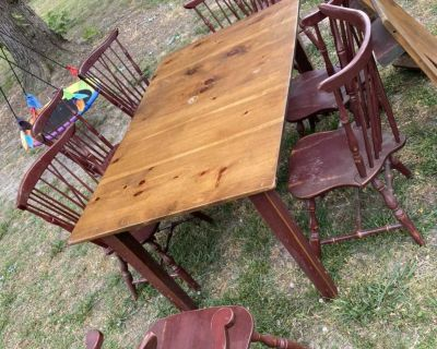 Farmhouse Style Country Kitchen Table