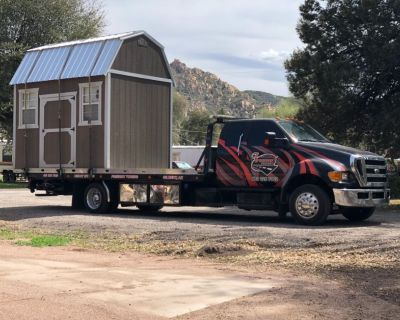 Shed and Storage Container Transport
