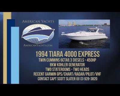 Tiara Yachts - 4000 Express