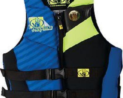 Body Glove Vests 12224-m-ryl/lem Phantom Pfd Royal/chartreuse M