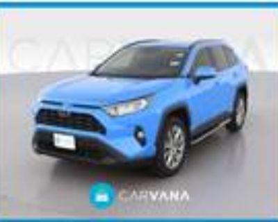 2020 Toyota RAV4 Blue, 21K miles