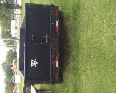 Dump bed trailer