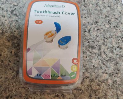 MAGELLAN'S, TOOTHBRUSH COVER, BRAND NEW NEVER BEEN OPENED, EXCELLENT CONDITION, SMOKE FREE HOUSE