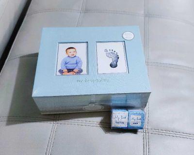 BRAND NEW baby keepsake box set