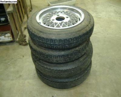 Porsche 914 mags and tires