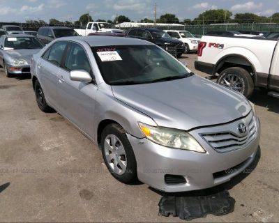 Salvage Silver 2010 Toyota Camry
