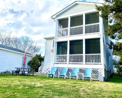 * Classy Multi-family Lewes Beach Home! *140 Steps to dunes!* - Lewes Beach