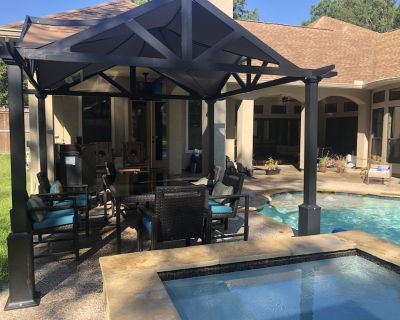 Private pool! Safe residence on acreage! Near Woodlands, Kingwood, Airport+ - Porter
