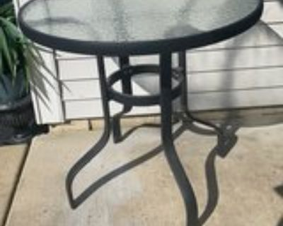 patio out door table