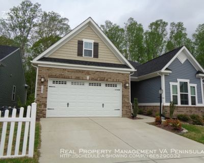 Beautiful Ranch Home in Village at Candle Station Williamsburg For Rent