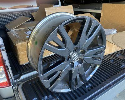 2021 Honda Pilot BLACK wheels