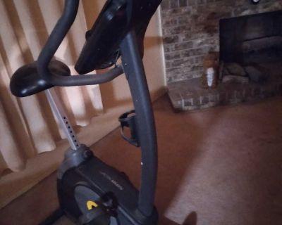 Like new Gold's Gym exercise bike.