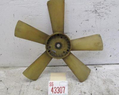 87 88 89 90 91 92 93 Mercedes 190e Engine Motor Cooling Fan Blade Oem 7791