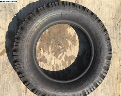 NOS 1 stock tire continental swiss 5.60-15 tire