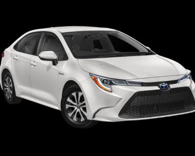 New 2022 Toyota Corolla Hybrid LE FWD Sedan