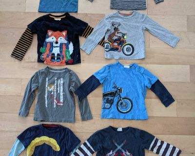 Boys long sleeve shirts size 2/3 and 3T