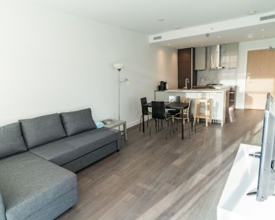 Fully furnished 1 bedroom condo at Super convenient location - Metrotown