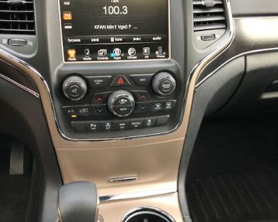 2017 Black Jeep Grand Cherokee Limited 4WD For Sale