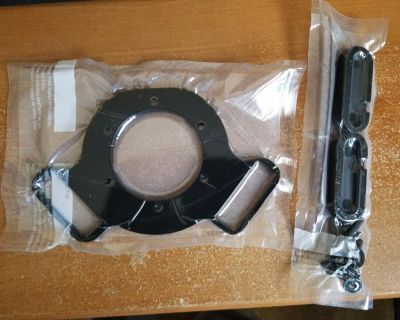 CRUISE CONTROL PLATE AND BUTTON RETAINERS FOR MOMO STEERING WHEEL