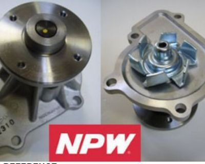 Fits 89-04 Nissan 240sx Frontier 2.4l Water Pump Npw New