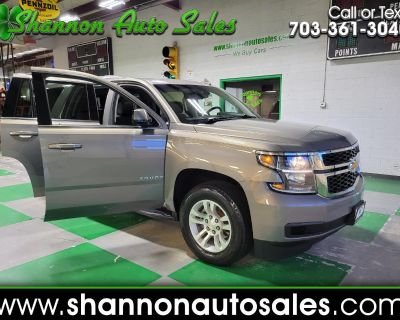 Used 2018 Chevrolet Tahoe 4WD 4dr LT