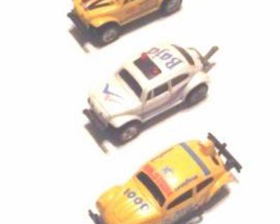 VW Baja Bugs Diecast Model Toys/Set of 5
