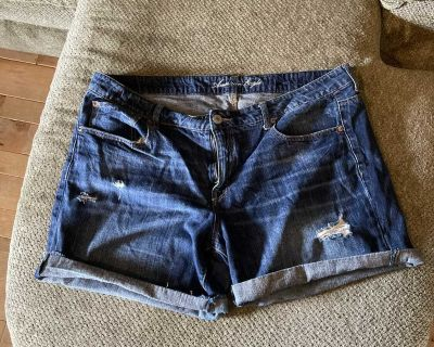 American eagle stretch jeans shorts size 18