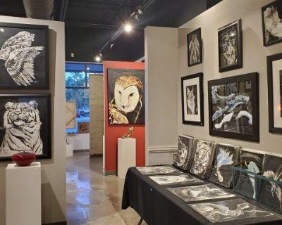 Elegant Art Gallery Event Space, Leawood, KS