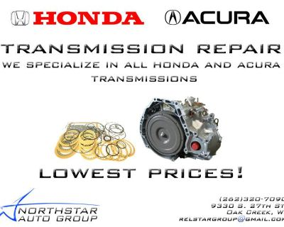 Acura Tl/cl Automatic Transmission Rebuild Service - Includes Removal/install