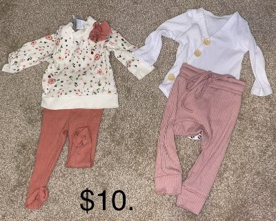 B/O 0-3M Baby Girl Clothes, Outfits & Onesies