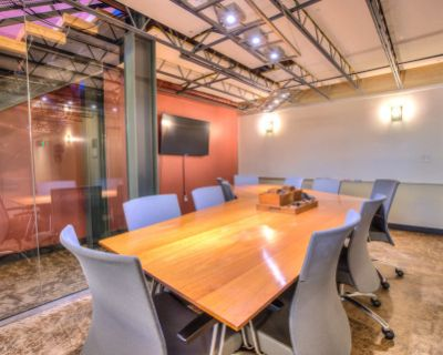 Industrial Chic 10-Person Conference Room, Denver, CO