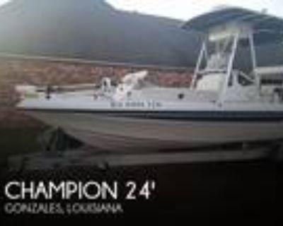 24 foot Champion 24 Bay Champ