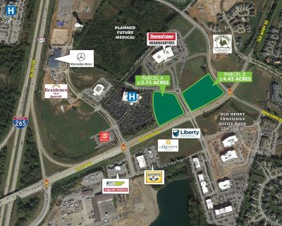 Old Henry Rd at James Thornton Way Retail Land For Sale
