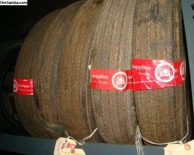 (5)VW NOS Dunlop Gold Seal C49 5.60-15 Tires $1000